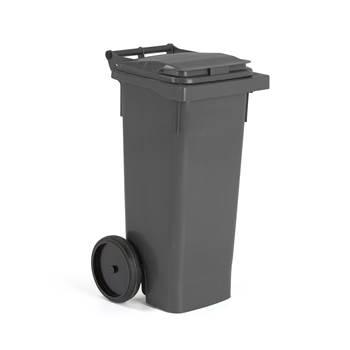 Odpadový kontajner, Š 446 x H 530 x V 965mm  80 l sivá