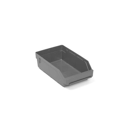 Szara szuflada magazynowa 3,4 l - 180x95x300mm - 20szt w opakowaniu