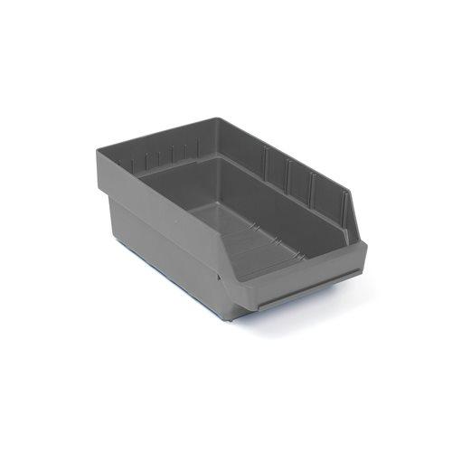 Pientavaralaatikko, 400x240x150 mm, kierrätysmuovia, harmaa
