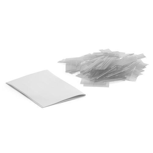 Etikettholder ink. etikett pk á 100 stk
