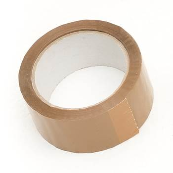 Packing tape: 66m: brown