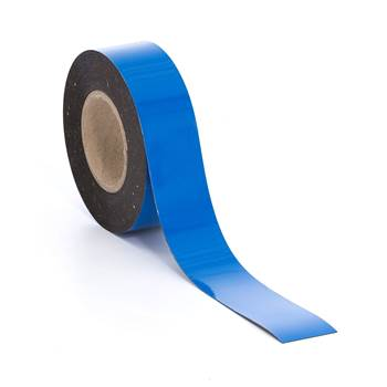 Magnetteip, 50 mm, blå