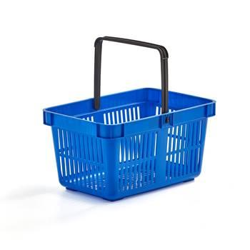 Shop baskets: 26L: blue