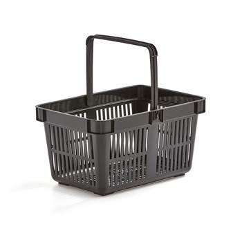 Shopping baskets, 480x330x250 mm, 26 L, black