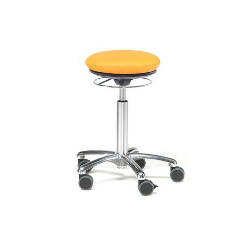 Pilates-tuoli Bristol, keinonahka, oranssi