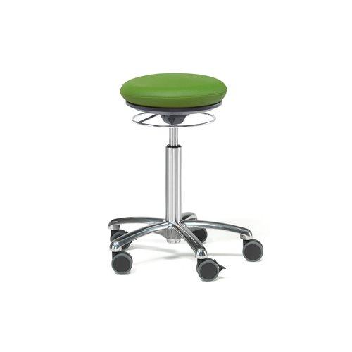 Pilates-tuoli Bristol, keinonahka, vihreä