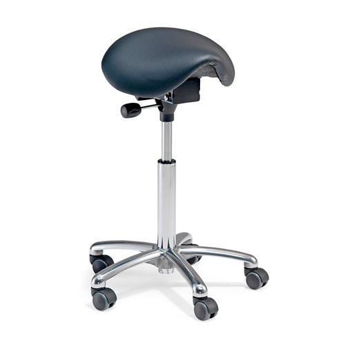 Narrow saddle chair