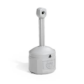Free-standing cigarette bin, Ø 420x980 mm, 15 L, grey