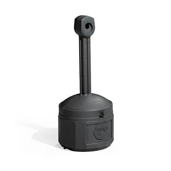 Askkopp, fristående, höjd: 980 mm, svart
