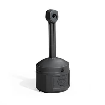 Free-standing cigarette bin, Ø 420x980 mm, 15 L, black