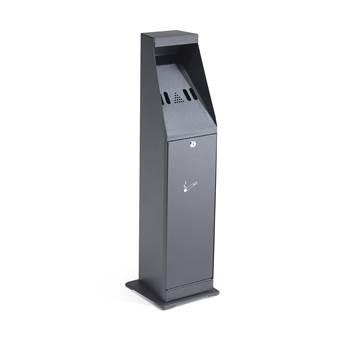 Free standing cigarette bin