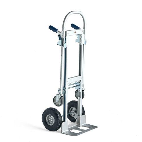 Nokkakärry / Yhdistelmäkärry, 250 kg, alumiini
