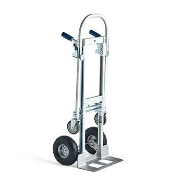 Magasinkärra + vagn, 250 kg, aluminium
