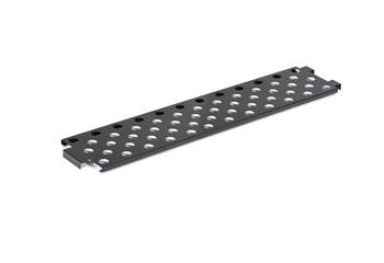 Shoe rack, 1500x275 mm, black