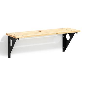 Wall-mounted bench, 360x1000 mm
