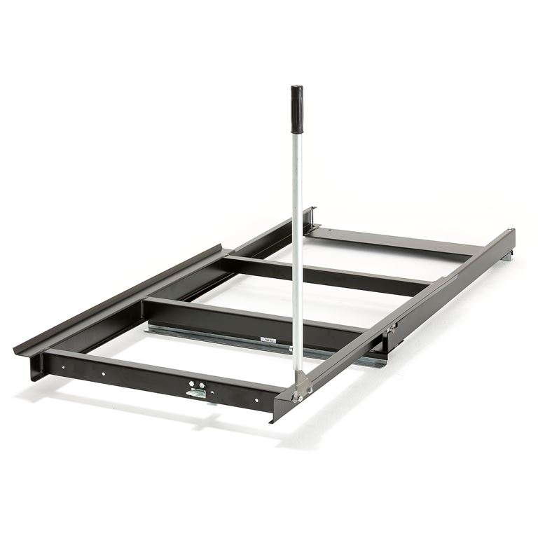 Pull-out pallet cradle: floor model: 700kg