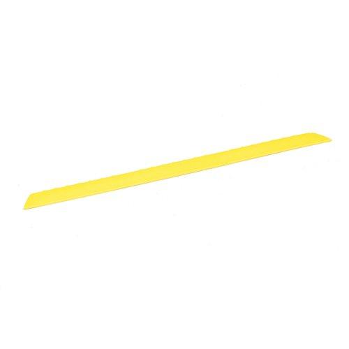 Edge strip male: 910x60mm: yellow