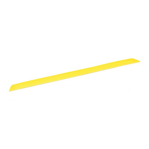 Edge strip female: 910x60mm: yellow