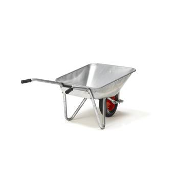 Heavy duty wheelbarrow: 120L