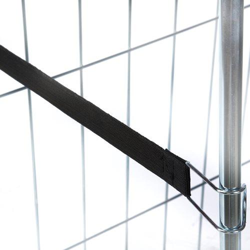 Elastic retaining strap