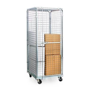Security trolley: H1840xW830xL720mm