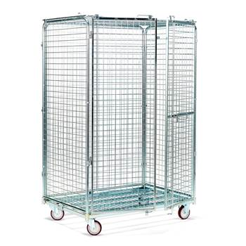 Security trolley: H1845xW800xL1200mm