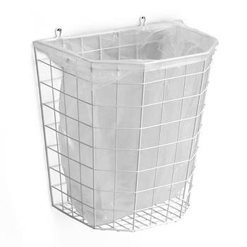 Wire waste paper basket