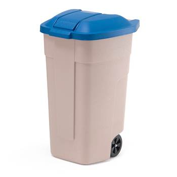 Refuse sorting container, 900x510x580 mm, 100 L, blue