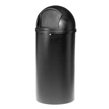 Avfallsbehållare med lucka, 79 liter