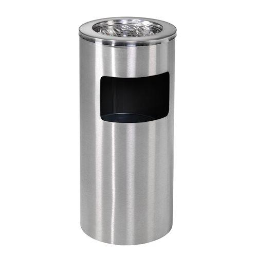 Papperskorg askkopp, 13 liter, rostfri AJ produkter