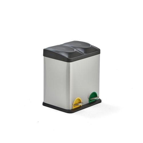 Pojemnik  do sortowania odpadów 2x15 l