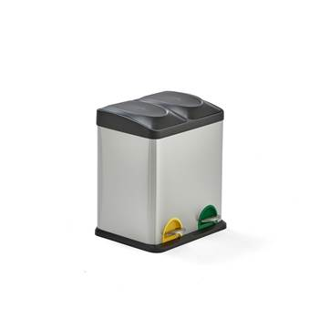 Waste sorting unit: 2 bins: 30L