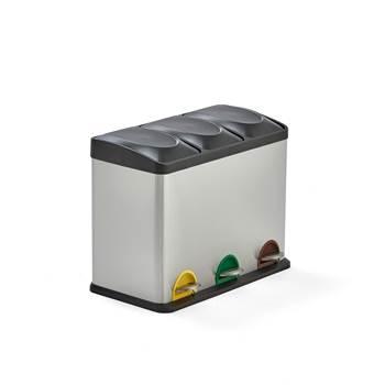 Pojemnik do sortowania odpadów 3x15