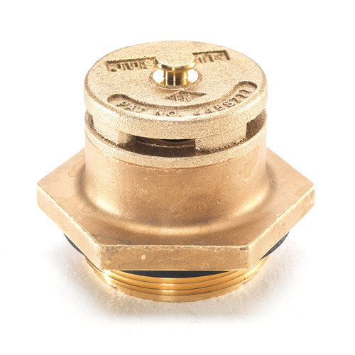 "Brass drum vent: vertical: 2"" NPT"