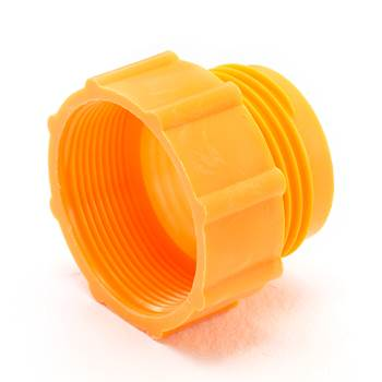"Thread adapter, 56x4 to 2"" BSP, orange"