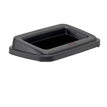 Wall mounting open lid
