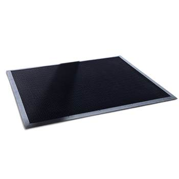 Rubber tip entrance mat, 900x1800 mm, black