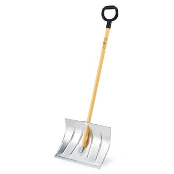 Snow shovel, wooden handle, 500x360 mm