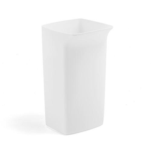 Refuse container: 40 L: white