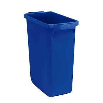 Refuse container, 600x280x590 mm, 60 L, blue