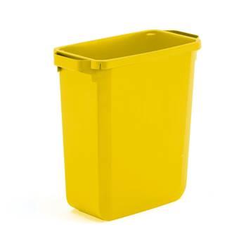 Odpadkový kôš 60l žltý