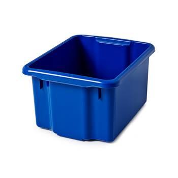 Plastkasse, 260x365x500, 33 L, blå
