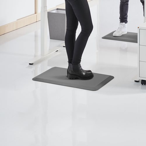 Workplace mat for standing work