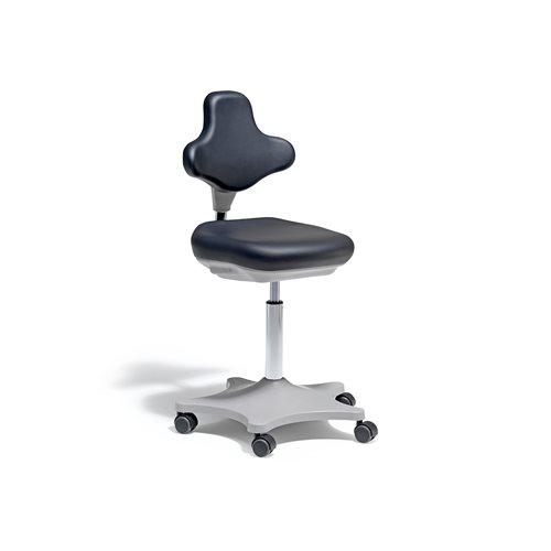 Krzesło laboratoryjne, czarny