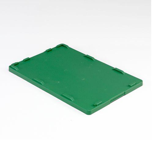 Zielona pokrywa o wym. 400x600mm do pojemników plastikowych