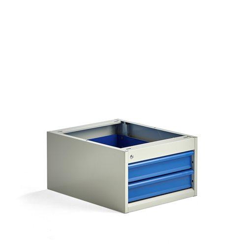 Podwieszane szafki z 2 szufladami, Wysokość:330 mm