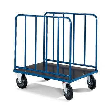 Kolica sa platformom i visokim stranama: D1000xŠ700 mm: nosivost 500kg, bez kočnica