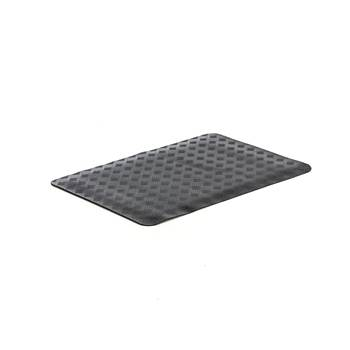 Oil resistant workplace mat, per metre, W 700 mm, black