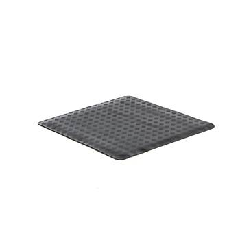 Oil resistant workplace mat, per metre, W 1000 mm, black