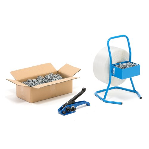 Complete strapping package: WG banding